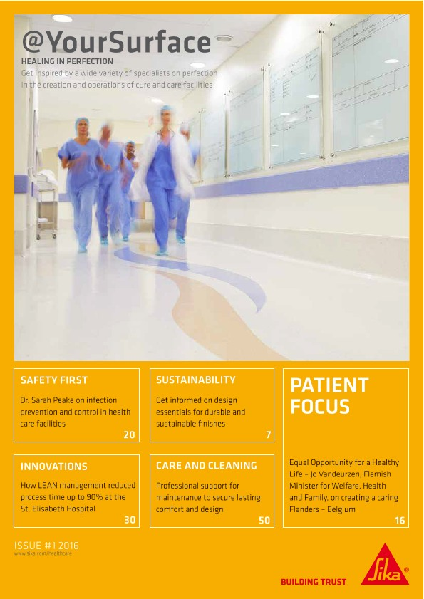 Your Surface: Floors in Healthcare Facilities