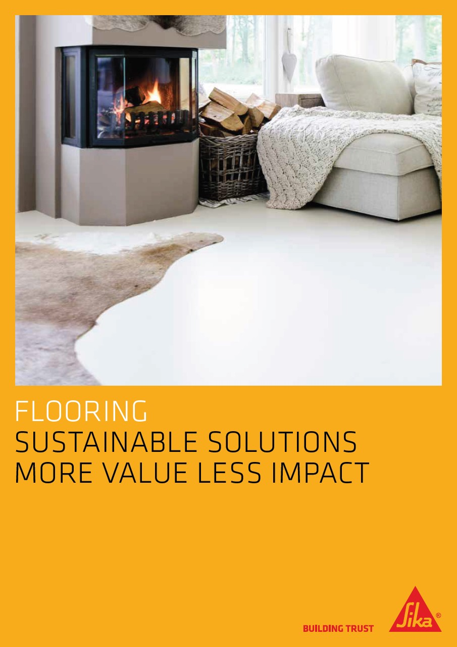 Sustainable solutions in Flooring