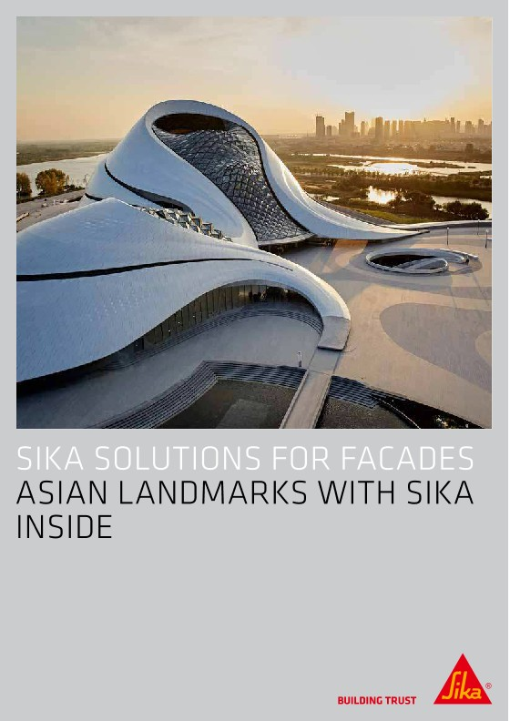 Sika Solutions for Facades - Asian Landmarks with Sika Inside